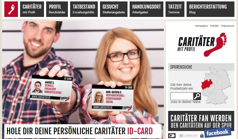 Website der Caritäter