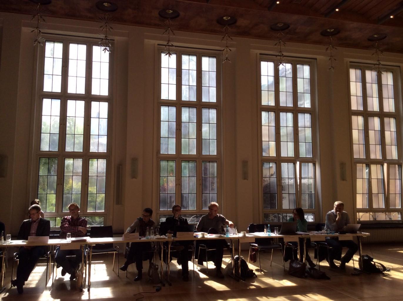 Vernetzung und Austausch: Darum geht es bei der Digital-Werkstatt im Frankfurter Spenerhaus.