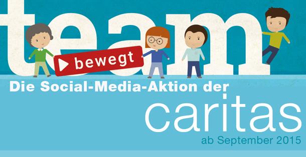 Mehr zur Aktion findest Du auf www.caritas.de/teambewegt
