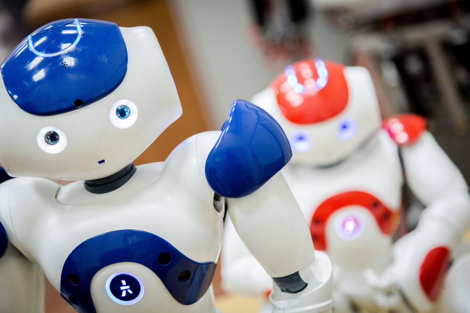 Roboter in der Pflege? CC LizenZ: University of Salford Press Office