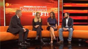 Bei der Sondersendung des ZDF wurde auf die Engagementbörse des Aktionsbündnisses Katastrophenhilfe hingewiesen.