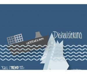 Wer die Digitalisierung verschläft, erleidet Schiffbruch.
