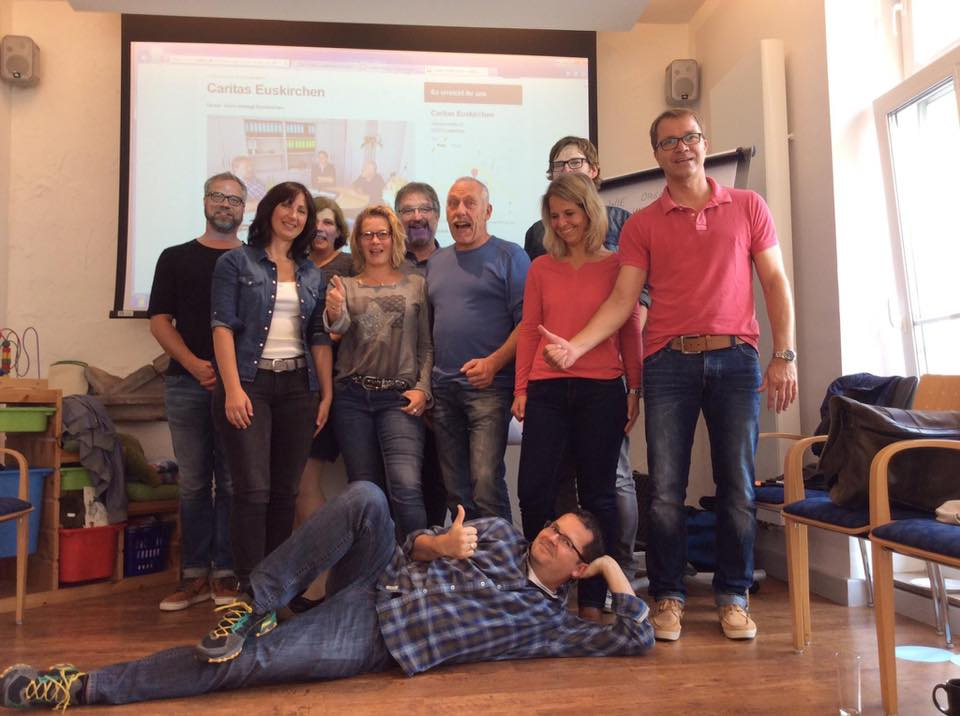 Facebook-Team der Caritas Euskirchen